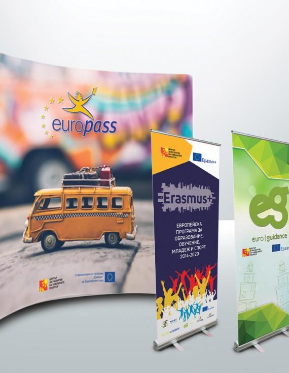 Употреба на текстилните стени в рекламната комуникация