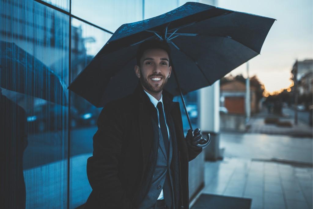 Мъжки чадър