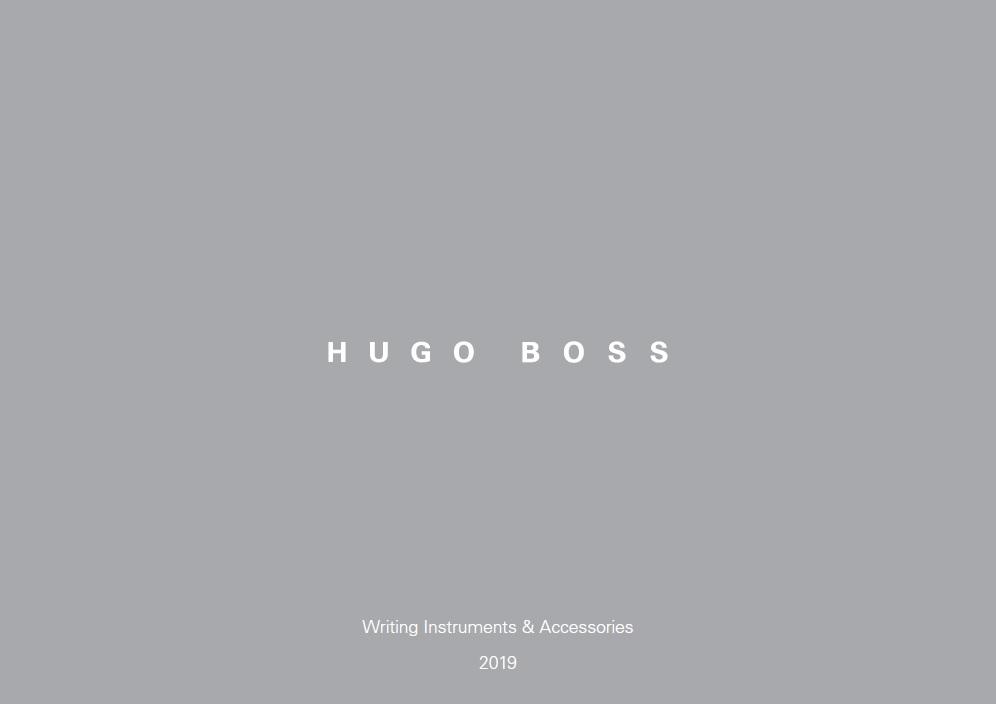 Hugo Boss 2019-Plast
