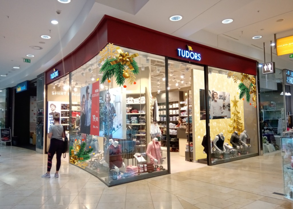 Дизайн, печат и брандиране на обекти -Tudors