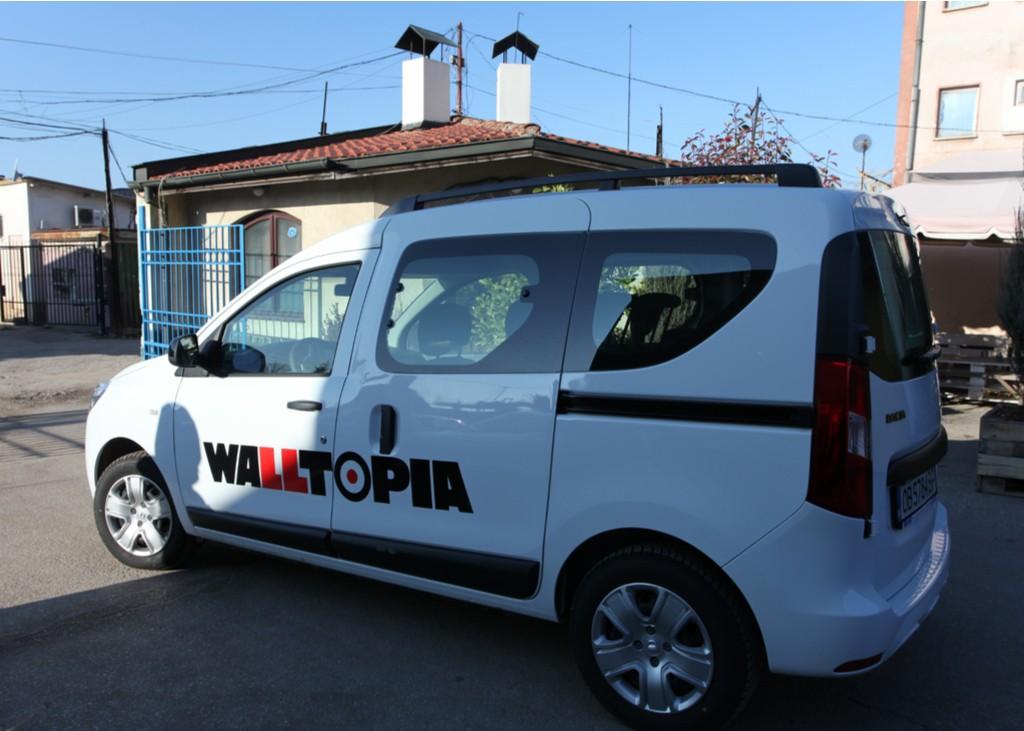 Брандиране на автомобили – WALLTOPIA